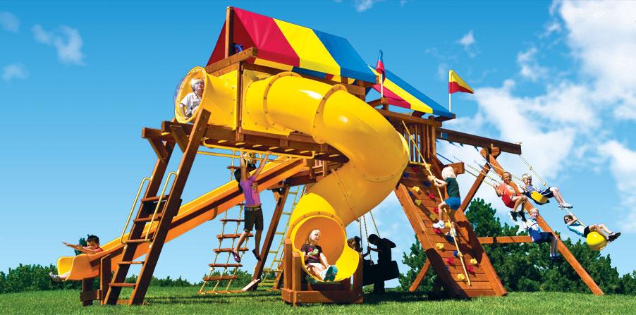 Детская игровая площадка 28D