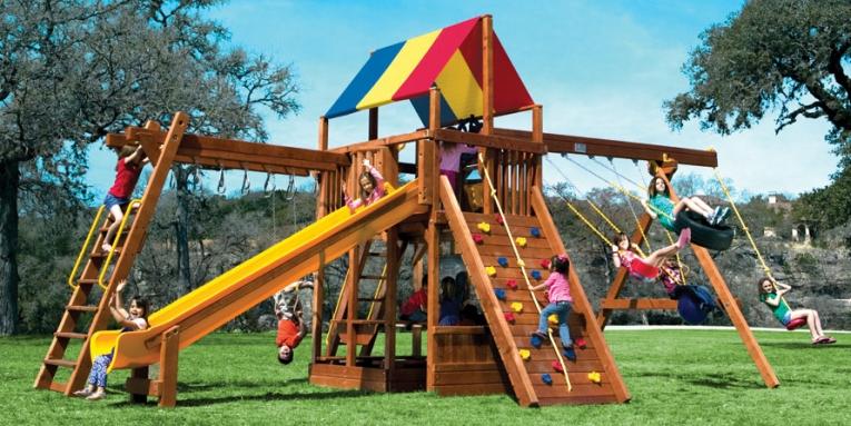 Детская игровая площадка 34B