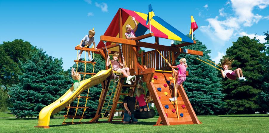 Детская игровая площадка 48B