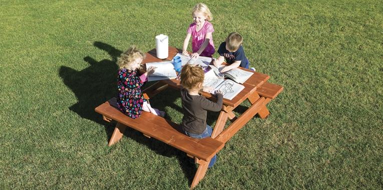 Выносной столик для пикника