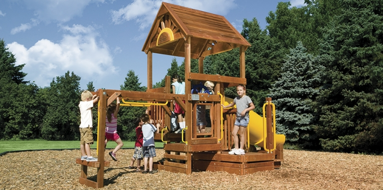 Детская игровая площадка D1A