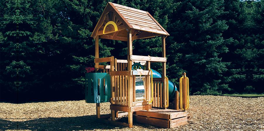 Детская игровая площадка D1B
