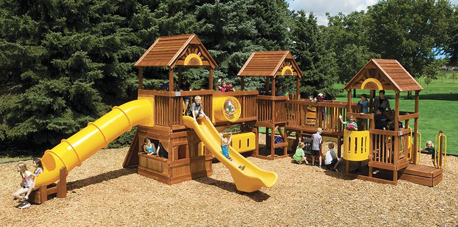 Детская игровая площадка D3A