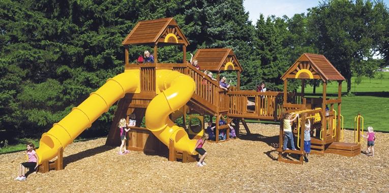 Детская игровая площадка D4A