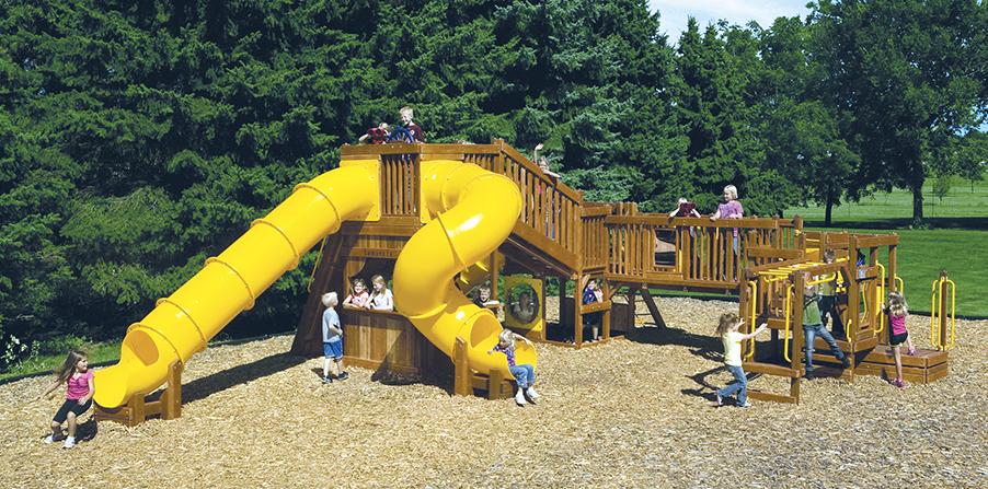 Детская игровая площадка D4C