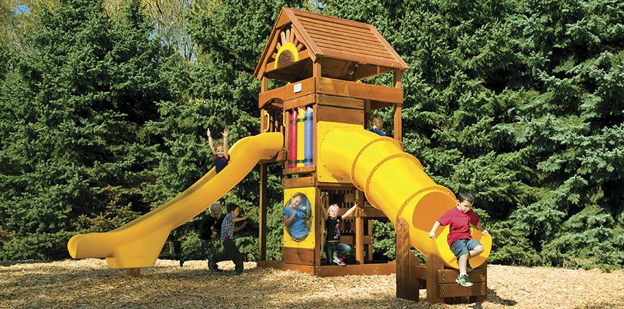 Детская игровая площадка D5B
