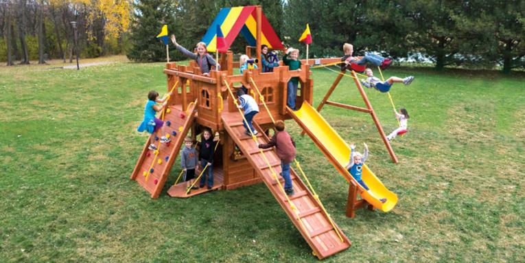 Детская игровая площадка 38A
