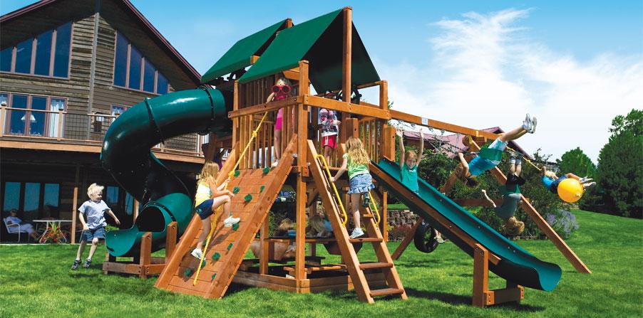 Детская игровая площадка 30D