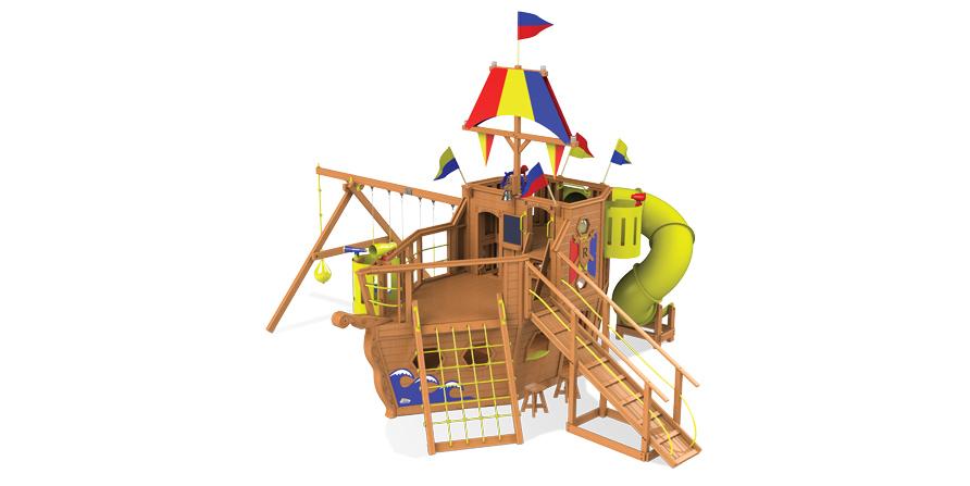 Игровой корабль для детей