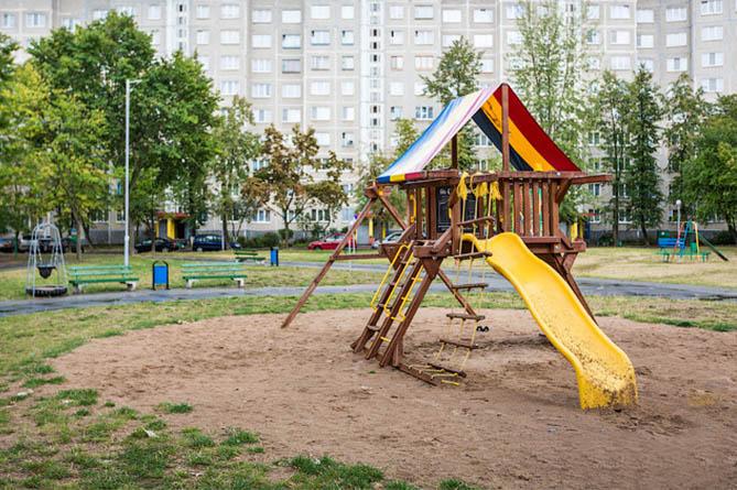 Двор на ул Якубова