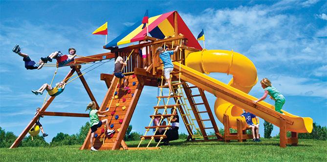 Лучшие детские площадки!