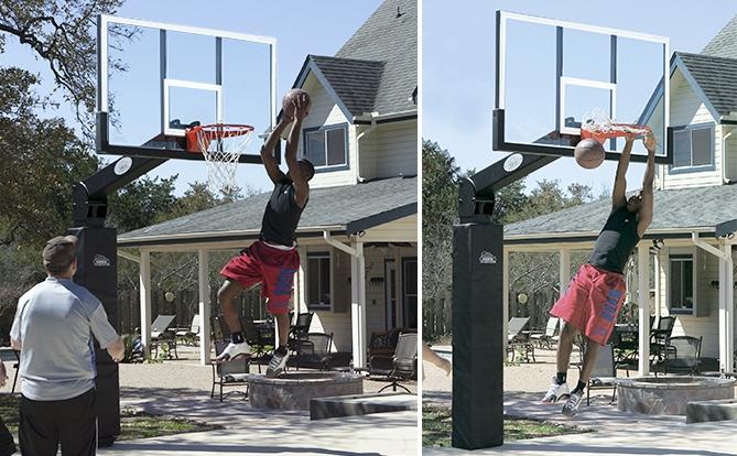 Надёжная стойка для баскетбола
