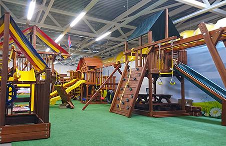 Шоу-рум детских площадок
