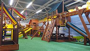 Первый в Беларуси шоурум детских площадок